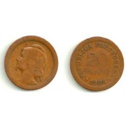 (574) Portugal. 1925. 20 Centavos (BC)