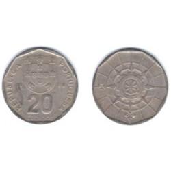 (634.1) Portugal. 1988. 20 Escudos (BC)