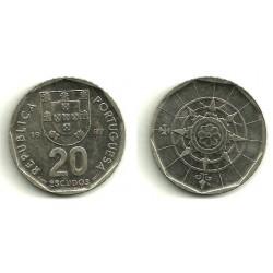 (634) Portugal. 1987. 20 Escudos (EBC)