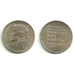 (607) Portugal. 1985. 25 Escudos (SC)