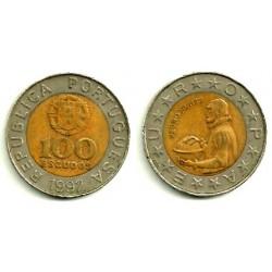 (645.1) Portugal. 1992. 100 Escudos (BC)
