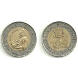 (645.1) Portugal. 1989. 100 Escudos (MBC)