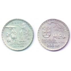 (668) Portugal. 1993. 200 Escudos (SC)