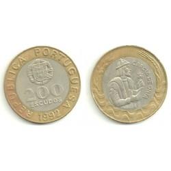 Portugal. 1992. 200 Escudos (MBC)