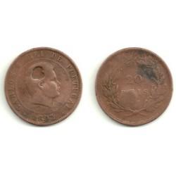 (533) Portugal. 1892. 20 Reis (RC)