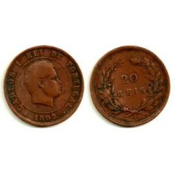 (533) Portugal. 1892. 20 Reis (BC)