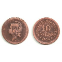 (573) Portugal. 1924. 10 Centavos (BC)