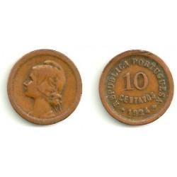 (573) Portugal. 1924. 10 Centavos (MBC)