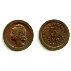 (572) Portugal. 1927. 5 Centavos (EBC)