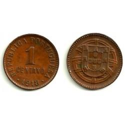 (565) Portugal. 1918. 1 Centavo (EBC)