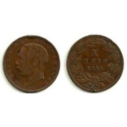 (532) Portugal. 1882. 10 Reis (MBC)