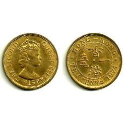 (28.3) Hong Kong. 1974. 10 Cents (EBC)
