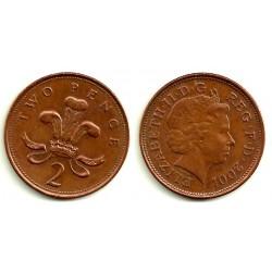 (987) Gran Bretaña. 2001. 2 Pence (MBC)