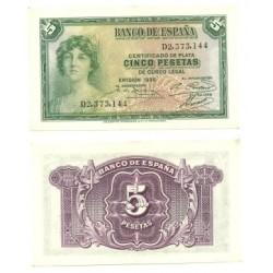 [1935] Billete de 5 Pesetas (SC).