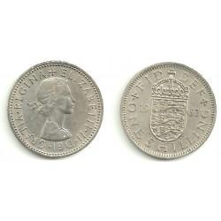 (904) Gran Bretaña. 1963. 1 Shilling (MBC)