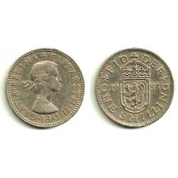 (904) Gran Bretaña. 1958. 1 Shilling (BC)