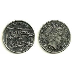 Gran Bretaña. 2015. 10 Pence (MBC)