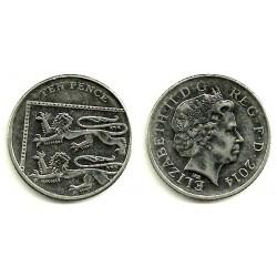 Gran Bretaña. 2014. 10 Pence (SC)
