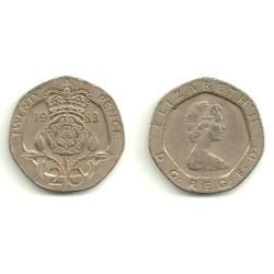 (931) Gran Bretaña. 1983. 20 Pence (MBC)