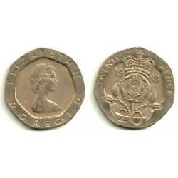 (931) Gran Bretaña. 1983. 20 Pence (BC)