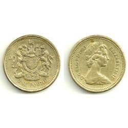 (933) Gran Bretaña. 1983. 1 Pound (BC)
