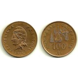 (15) Nueva Caledonia. 1976. 100 Francs (EBC)