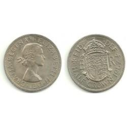 (907) Gran Bretaña. 1967. Half Crown (SC)