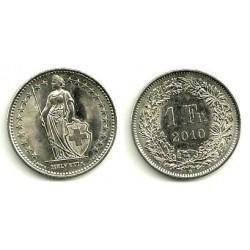 Suiza. 2010. 1 Franc (MBC)
