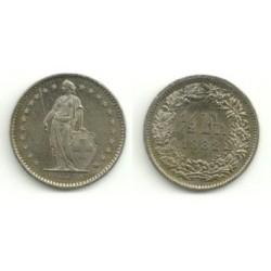(23a.2) Suiza. 1982. ½ Franc (SC)