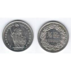 (23a.1) Suiza. 1980. ½ Franc (SC)