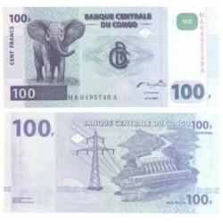 (92) Congo. 2000. 100 Francs (SC)