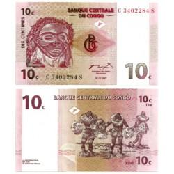 (82) Congo. 1997. 10 Centimes (SC)