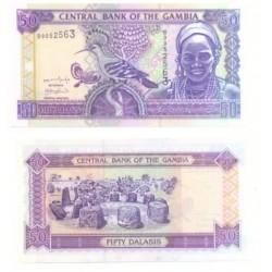 (23) Gambia. 50 Dalasis (SC)