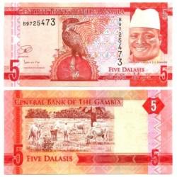 Gambia. 5 Dalasis (SC)