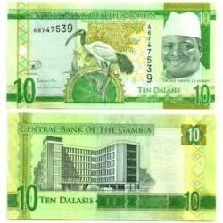 Gambia. 10 Dalasis (SC)