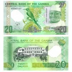 Gambia. 2014. 20 Dalasis (SC)
