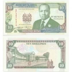 (24f) Kenia. 1994. 10 Shillings (SC)