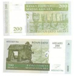 Madagascar. 2004. 200 Ariary (SC)