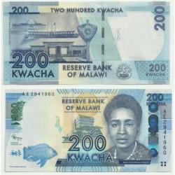 Malaui. 2012. 200 Kwacha (SC)