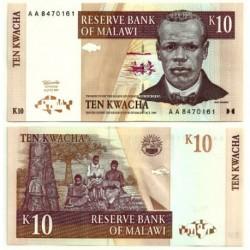 (37) Malaui. 1997. 10 Kwacha (SC)