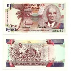 (23b) Malaui. 1992. 1 Kwacha (SC)