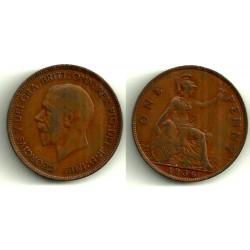 (838) Gran Bretaña. 1936. 1 Penny (BC+)