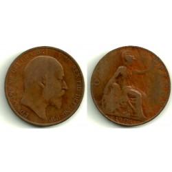 (794.2) Gran Bretaña. 1906. 1 Penny (RC)