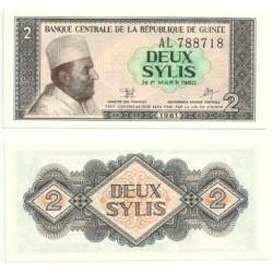 (21) República de Guinea. 1981. 2 Sylis (SC)
