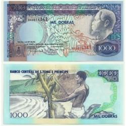 (64) Santo Tomé y Principe. 1993. 1000 Dobras (SC)