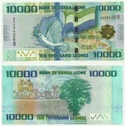 Sierra Leona. 2010. 10000 Leones (SC)