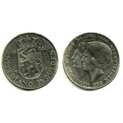Países Bajos. 1980. 2 ½ Gulden (EBC)