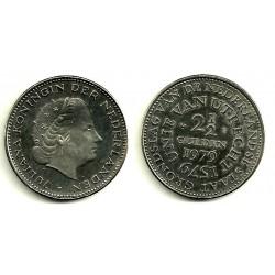 (197) Países Bajos. 1979. 2 ½ Gulden (EBC)