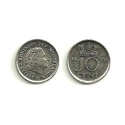 (203) Países Bajos. 1978. 10 Cents (MBC)