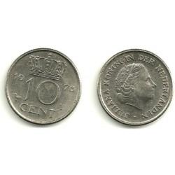 (182) Países Bajos. 1976. 10 Cents (MBC)